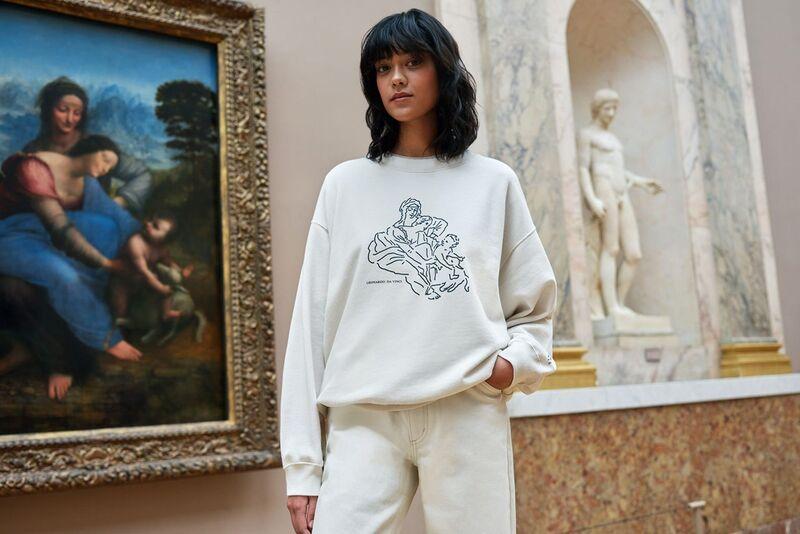 Historical Artwork-Inspired Clothing