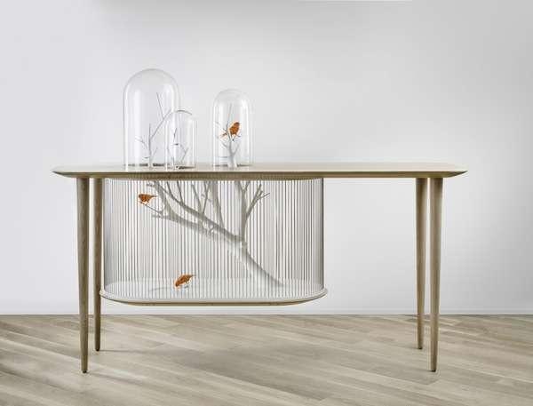 Aviary Table Displays
