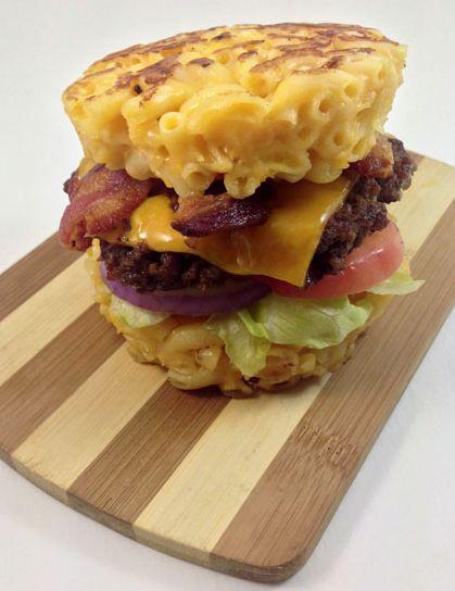 Macaroni Burger Buns