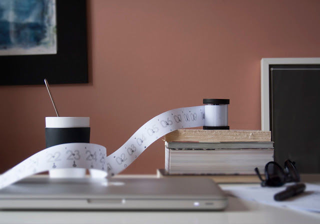 Spool-Shaped Calendars