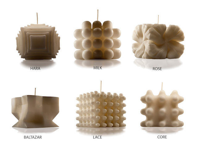 Contemporary Architecture Candles
