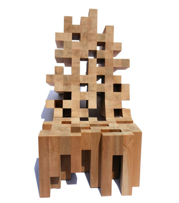 Pixelated Furniture Collections