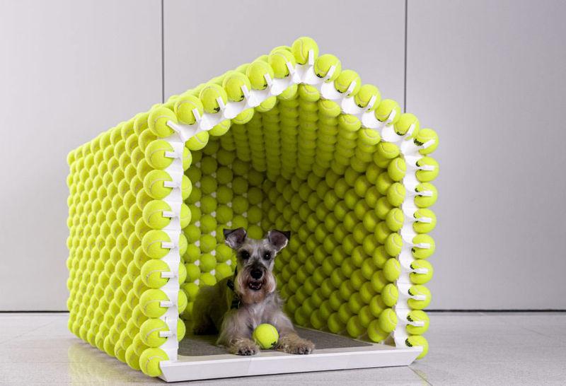3D-Printed Dog Houses