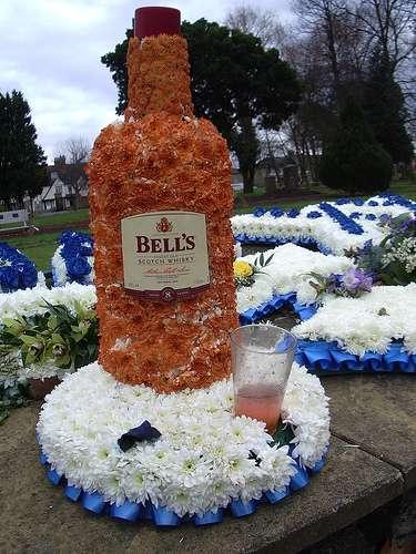 Bizarre Burial Bouquets Strange Floral Tributes