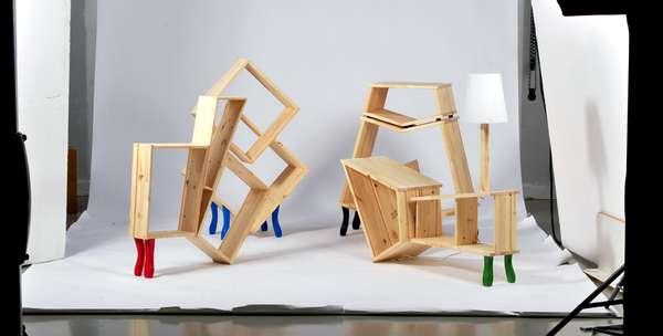 Flat Pack Furniture Art