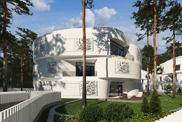 Spherical Oceanside Apartments