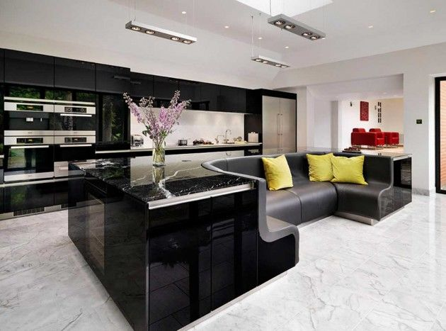 Unique Kitchen Island Amazing Sofaembedded Islands  Unique Kitchen Island Design Ideas