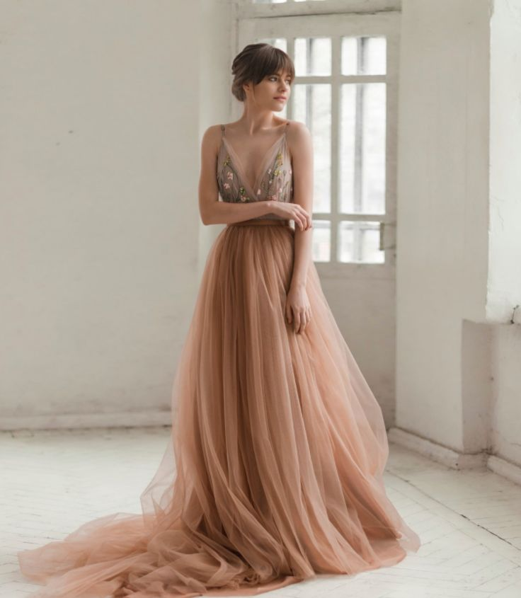 Unique Romantic Wedding Dresses