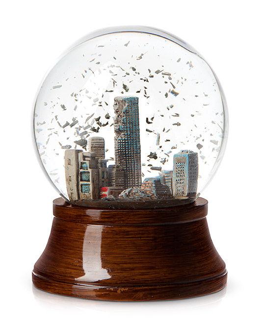 Apocalyptic Snow Globes