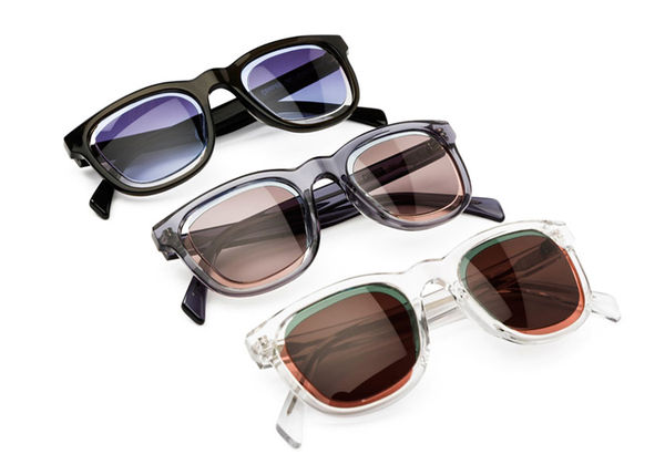 Overlapping Ombre Sunglasses
