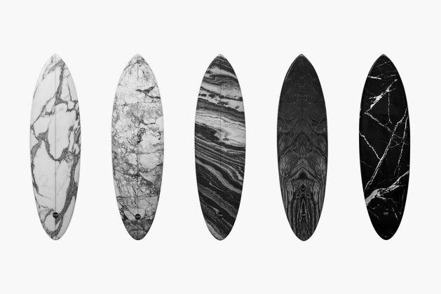 Designer Marble Surfboards