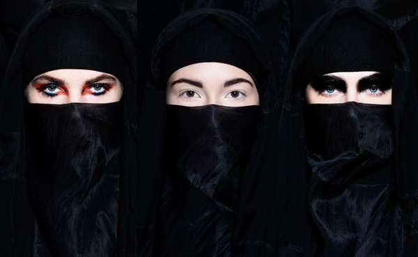 Burka Beauty Photography