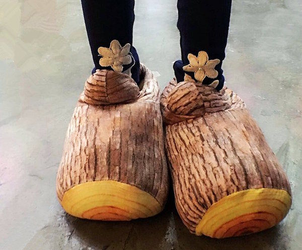 Faux Timber Footwear