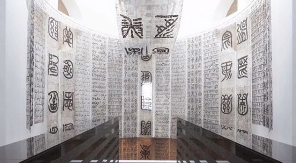 Hairy Calligraphy Installations
