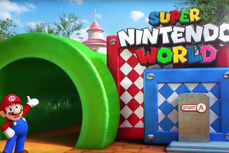 Video Game-Inspired Theme Parks