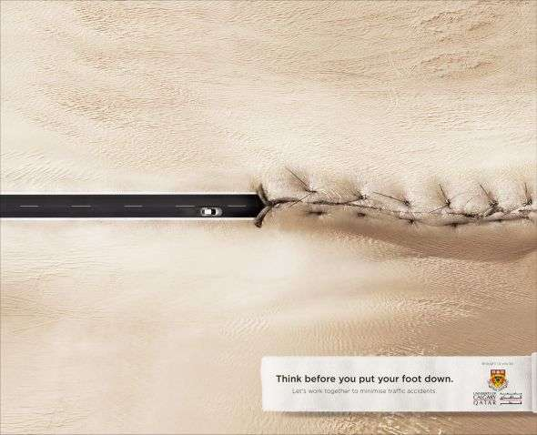 Road-Ripping Safety Ads