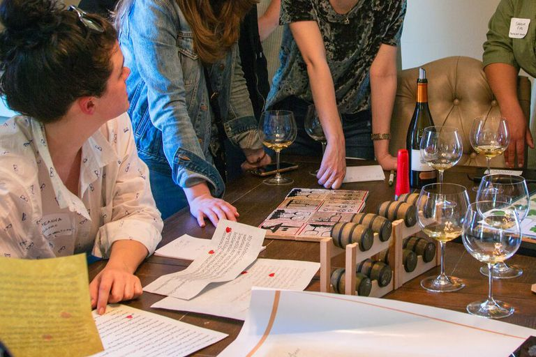 Wine-Fueled Escape Rooms