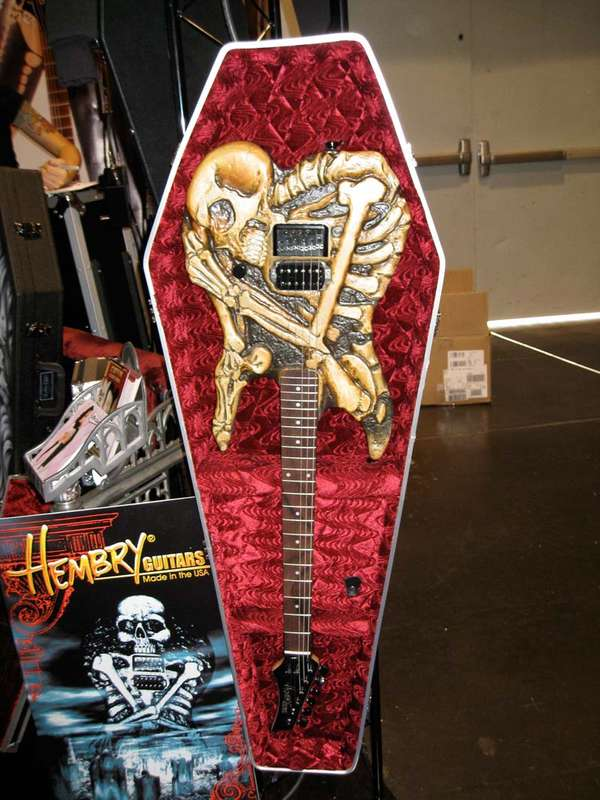 Scorpion-Shaped Guitars