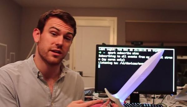 Glowing Internet-Detecting Swords