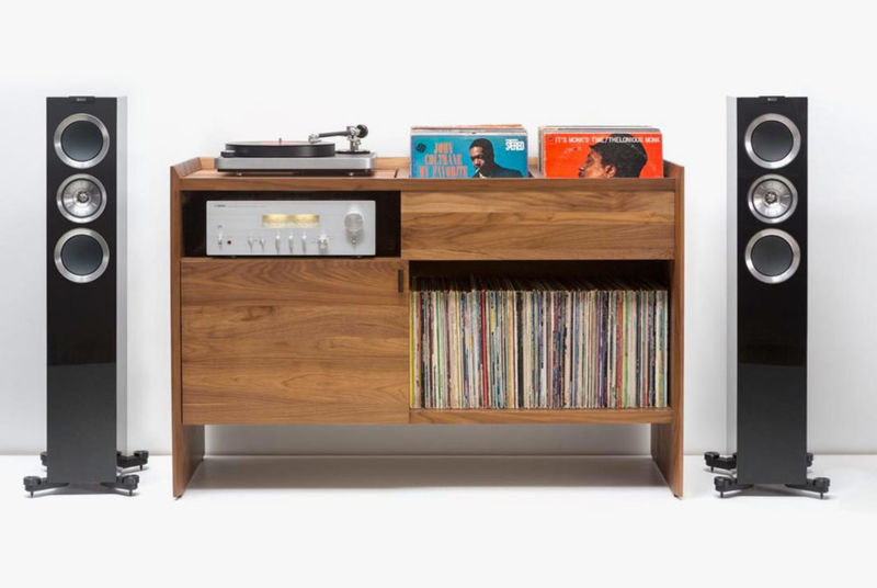 Contemporary Vinyl Stands
