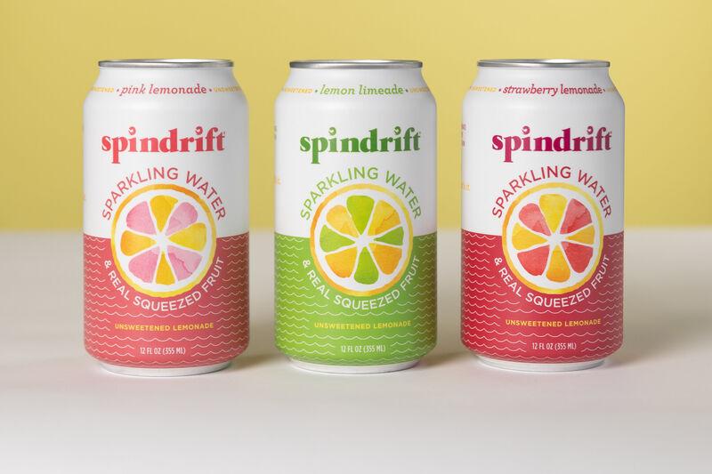 Lemonade-Inspired Sparkling Waters