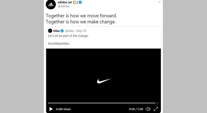Sports Brand Solidarity Ads