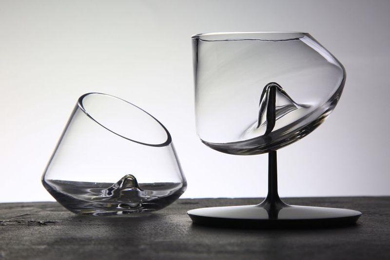 Spill-Proof Yacht Barware