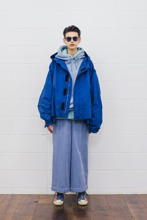 Androgynous Layered Apparel