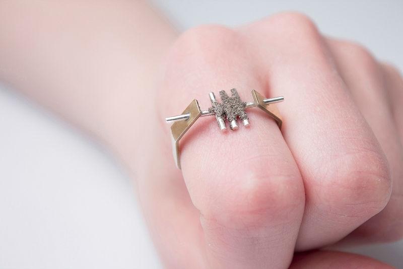 Morphing Dust Jewelry
