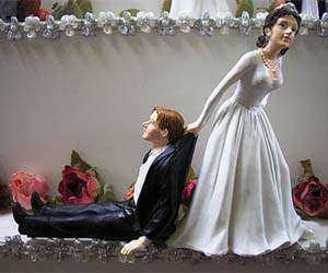 Unwilling Groom Cake Toppers