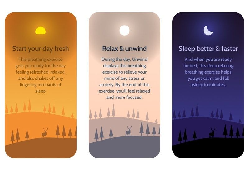 Relaxed Breathing Training Apps