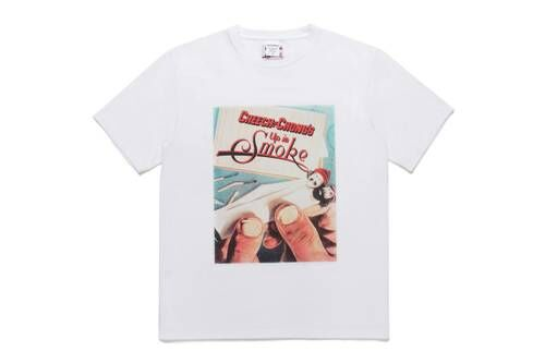Playful Film-Themed Graphic Streetwear