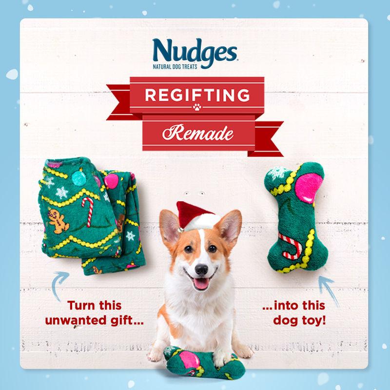Festively Upcycled Dog Toys