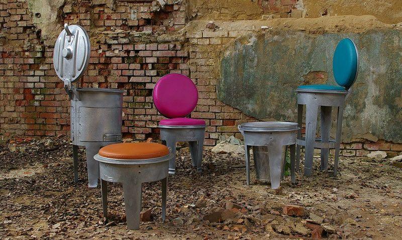 Garbage Can Furniture