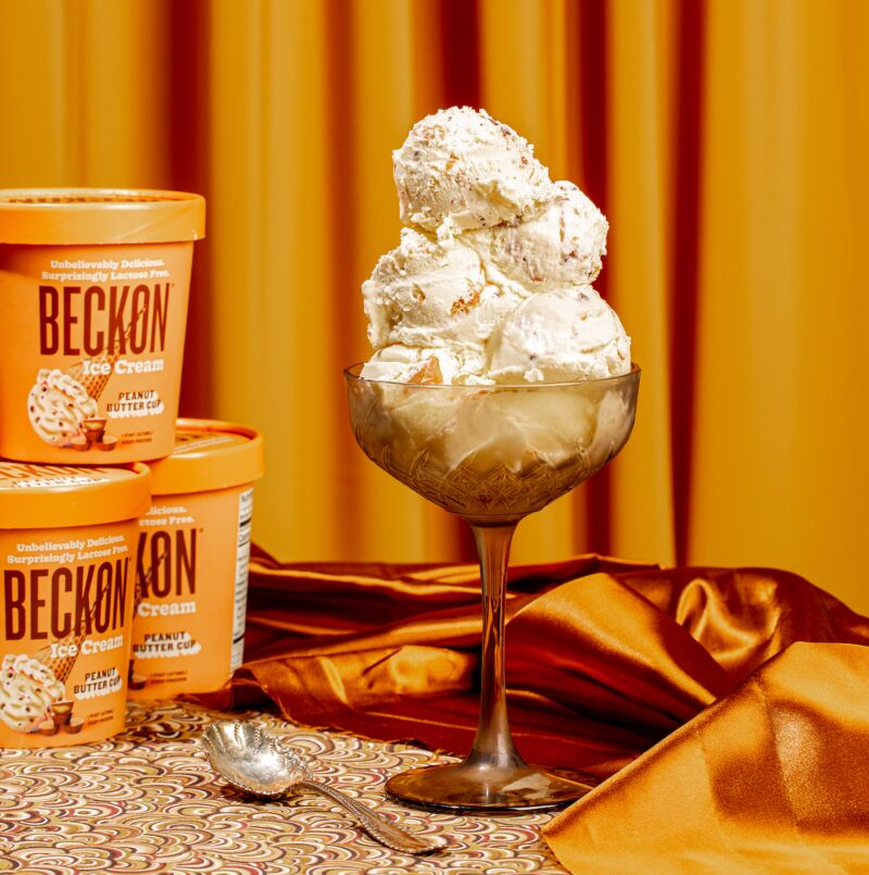 Lactose-Free Upcycled Ice Creams