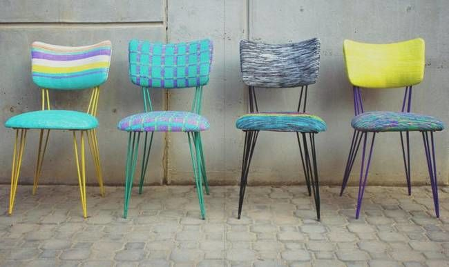 Upcycled Plastic Bag Furniture