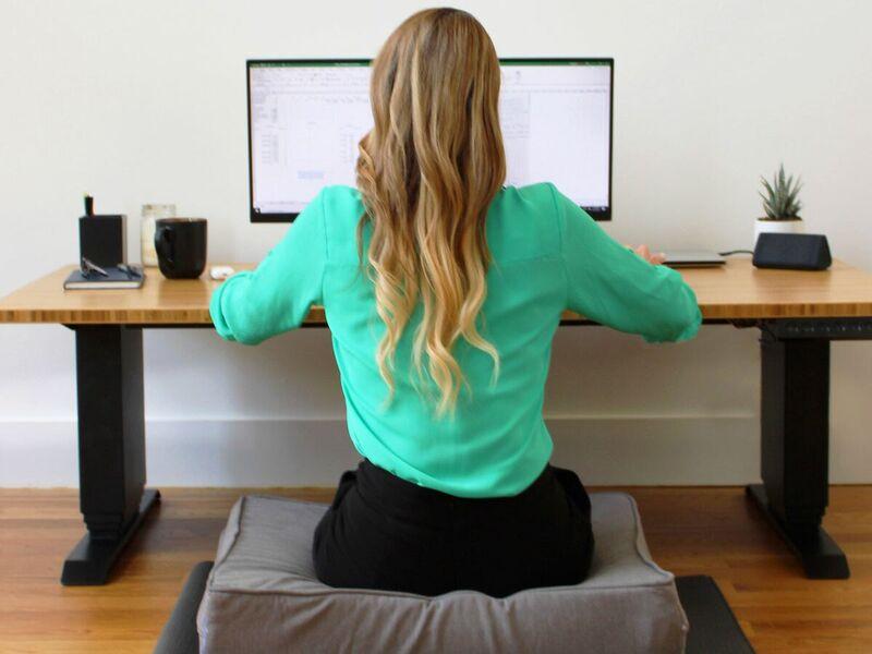 Adjustable Floor Sitting Desks