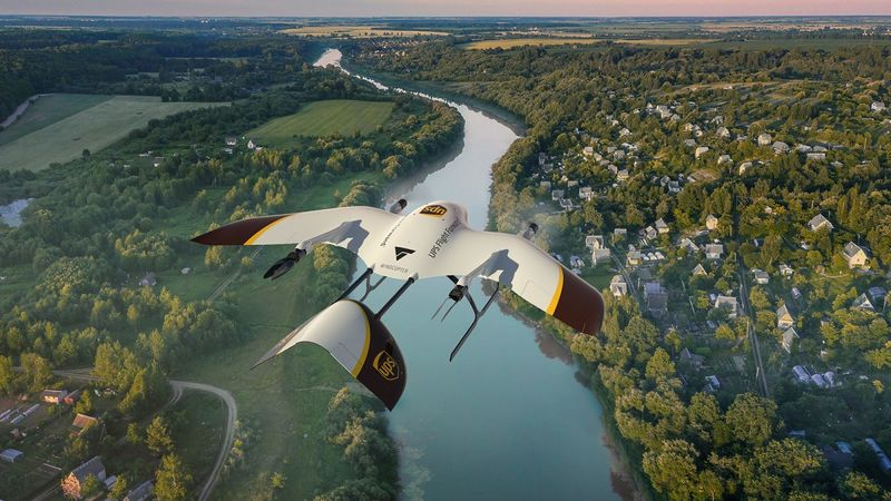 Package Delivery Drone Partnerships