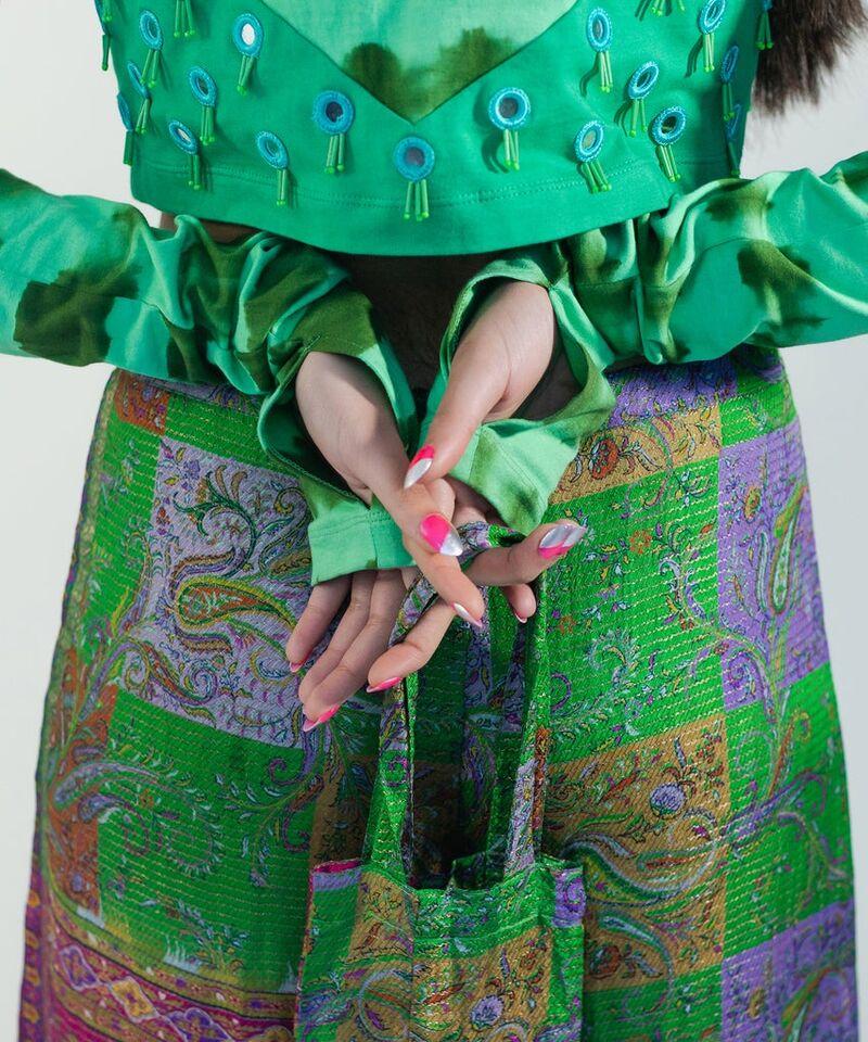 Upcycled Vintage Saris
