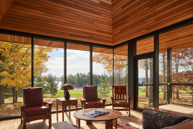 Remote Upscale Cabin Designs