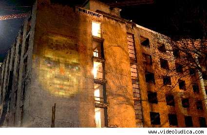 Urban Art Projection