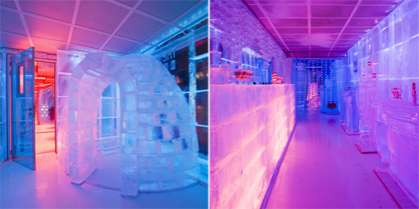 Urban Ice Hotels