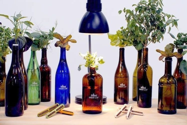 Slim Bottle Topper Gardens