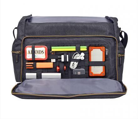 Gear Segmenting Messenger Bags