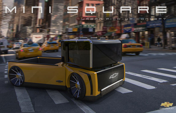 Compact City-Friendly Trucks