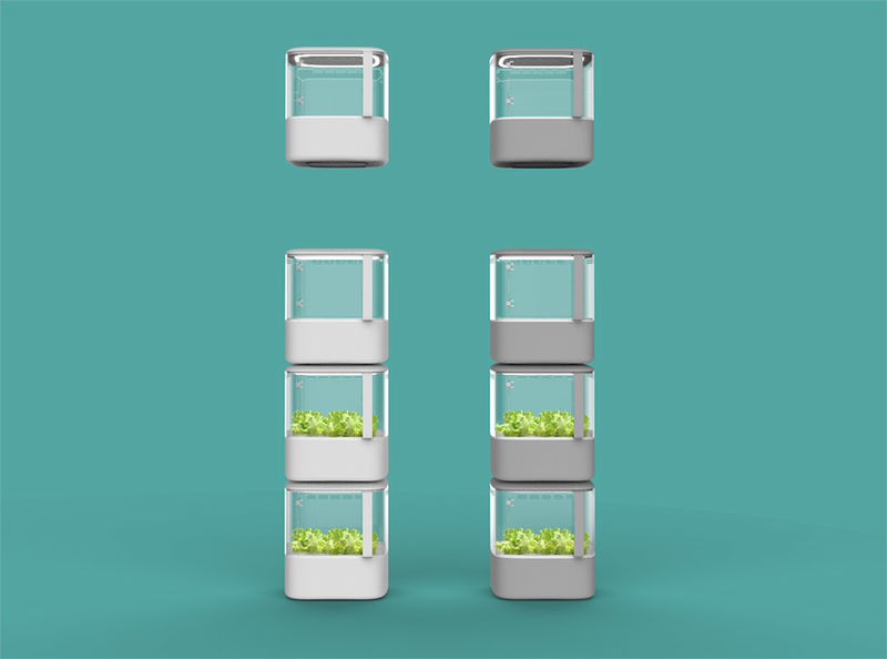 Stackable Indoor Gardens