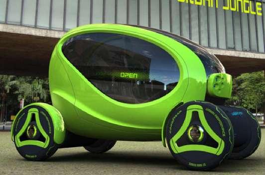Futuristic Amphibious Autos Urban Pod