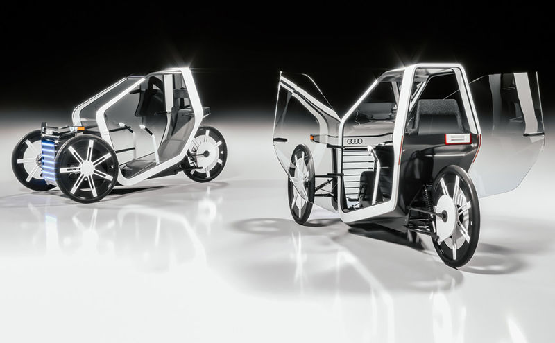 Power-Assisted City Trikes