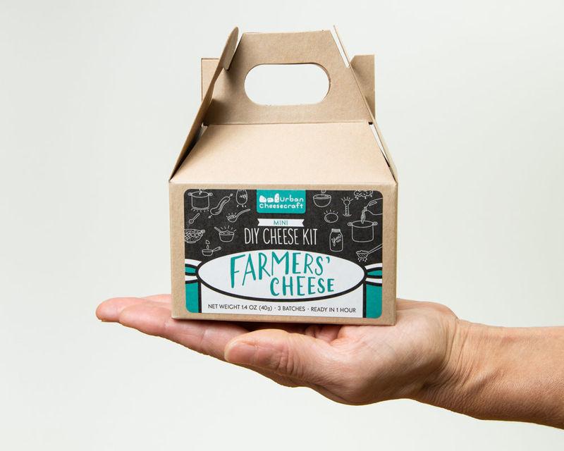 Minimalist Cheese-Making Kits
