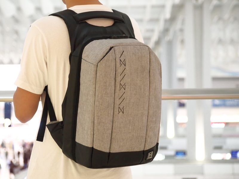 Camera-Accommodating Antitheft Backpacks